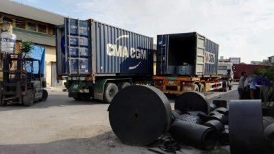 Băng tải cao su(Hàng về)