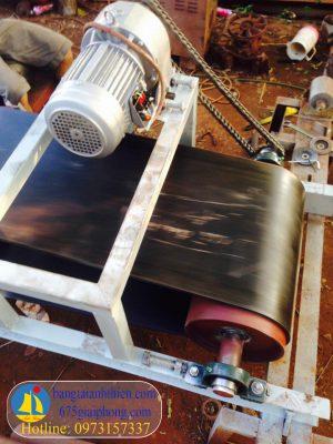 Khung băng tải cao su L9000xR800