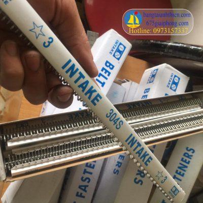 Ghim inox, intake (belt fasteners 1 sao, 2 sao, 3 sao, 4sao…) cho băng tải