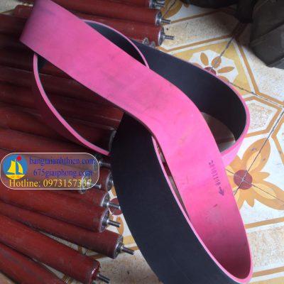 dây curoa dai dẹt dán cao su đỏ (4)