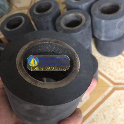 Đúc cao su bánh xe rùa, bánh xe nâng băng cao su