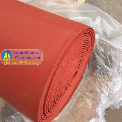 gioăng silicon xốp màu đỏ chịu nhiệt (1)