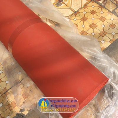 Gioăng silicon đỏ xốp chịu nhiệt trên 300 độ