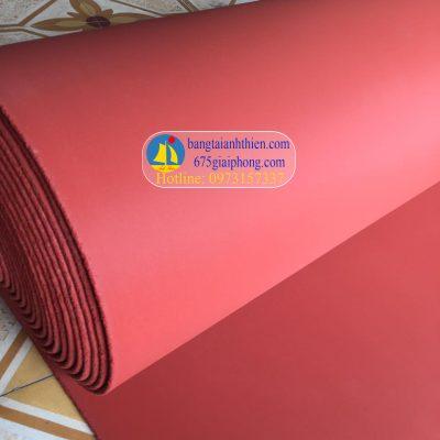 Tấm silicon màu đỏ chịu nhiệt, gioăng silicon tấm xốp đỏ 2mm, 3mm, 5mm,…