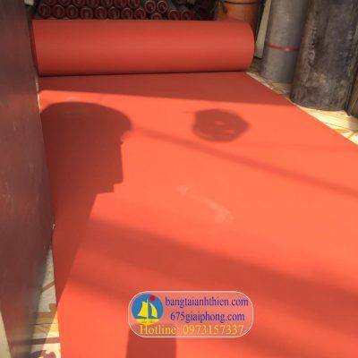 tấm silicone màu đỏ xốp chịu nhiệt (2)