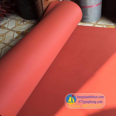 tấm silicone màu đỏ xốp chịu nhiệt (4)
